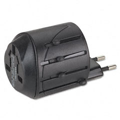 Kensington - international travel plug adapter/ac outlet for notebook pc, cell phone, 110v, sold as 1 ea