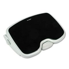 Kensington 56144 Solemate Plus Adjustable Footrest W/Gel Pad, 3-1/2H To 5H, Gray/Black