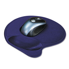 Kensington 57803 Wrist Pillow Extra-Cushioned Mouse Pad, Nonskid Base, 8 X 11, Blue