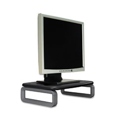 Kensington - monitor stand plus with smartfit system, 16 x 11 5/8 x 6, black/gray, sold as 1 ea