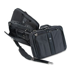 Kensington - contour pro 17-inch laptop carrying case, nylon, 17-1/2 x 8-1/2 x 13, black, sold as 1 ea