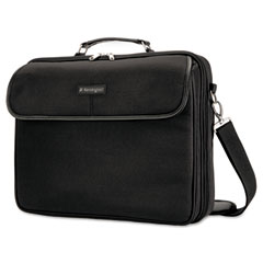 Kensington - simply portable 30 laptop case, 15 3/4 x 3 x 13 1/2, black, sold as 1 ea