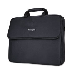 Kensington - sp 17 17-inch laptop sleeve, padded interior, interior/exterior pockets, black, sold as 1 ea
