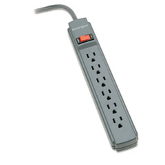 Kensington 62668 Guardian Surge Protector, 6 Outlets, 15Ft Cord