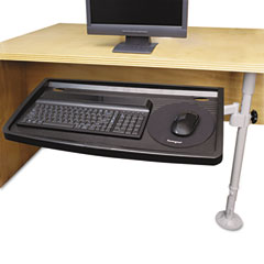 Kensington 62834 Snaplock Adjustable Keyboard Tray, Gray