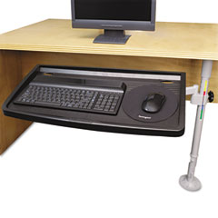 Kensington 62835 Snaplock Adjustable Keyboard Tray With Smartfit System, Gray