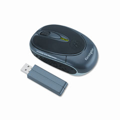 Kensington KMW72267 Optical Ci65m Mouse, Three-Button/Scroll, Black
