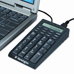 Kensington KMW72274 Notebook Keypad/Calculator w/USB Hub