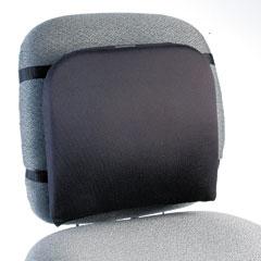 Kensington 82025 Memory Foam Backrest, 13-1/4W X 1-3/4D X 14-1/4H, Black