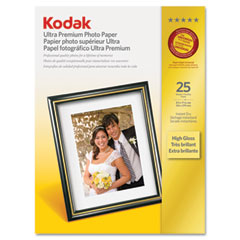 Kodak - ultra premium photo paper, 76 lbs., high-gloss, 8-1/2 x 11, 25 sheets/pack, sold as 1 pk