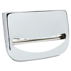 Krystal KRSKD200 Toilet Seat Cover Dispenser, 16 x 3 x 11 1/2, Chrome