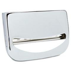 Krystal KRSKD200 Toilet Seat Cover Dispenser, 16 x 3 x 11 1/2, Chrome