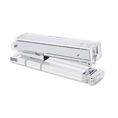 Kantek AD-80 Clear Acrylic Stapler, Sheet Capacity, Clear