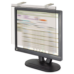 Kantek LCD17SV Lcd Protect Acrylic Monitor Filter W/Privacy Screen,17-18 Monitor, Silver