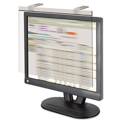"Kantek LCD19SV Lcd Protect Acrylic Monitor Filter W/Privacy Screen, 19-20"" Monitor, Silver"