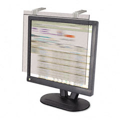 "Kantek LCD20WSV Lcd Protect Acrylic Monitor Filter W/Privacy Screen, 20"" Lcd Screens, Silver"