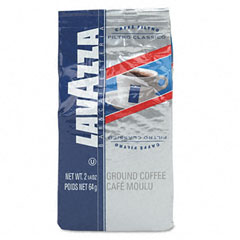 Lavazza - filtro classico italian house blend coffee, 2 1/4 oz fraction packs, 30/carton, sold as 1 ct