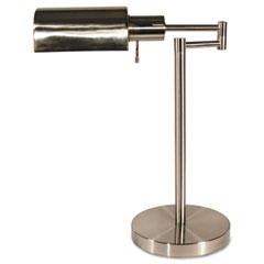 Ledu L9022 Adjustable Full Spectrum Table Lamp, Brushed Steel, 16-1/2 Inches High