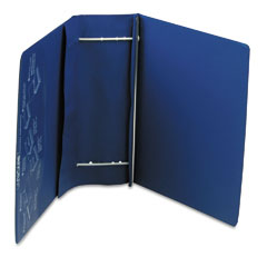 Charles Leonard 61602 Varicap6 Expandable 1 To 6 Post Binder, 11 X 8-1/2, Blue