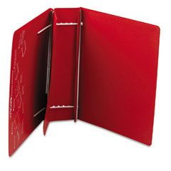 Charles Leonard 61603 Varicap6 Expandable 1 To 6 Post Binder, 11 X 8-1/2, Red