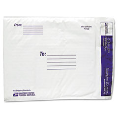 Lepages LEP8122125 USPS White Poly Bubble Mailer, #2, White, 25 Pack