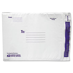 Lepages 8123125 Usps White Poly Bubble Mailer, #5, White, 25/Pack