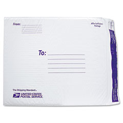 Lepages 8124125 Usps White Poly Bubble Mailer, #7, White, 25/Pack