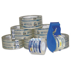 "Lepages 82281 Packaging Tape Bonus Pack, 2"" X 55 Yards, Clear, 8/Pack"
