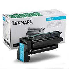 Lexmark 10B042C 10B042C High-Yield Toner, 15000 Page-Yield, Cyan