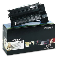 Lexmark 10B042K 10B042K High-Yield Toner, 15000 Page-Yield, Black