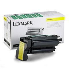 Lexmark 10B042Y 10B042Y High-Yield Toner, 15000 Page-Yield, Yellow