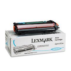 Lexmark 10E0040 10E0040 Toner, 10000 Page-Yield, Cyan