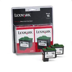 Lexmark 10N0138 10N0138 Ink, 820 Page-Yield, 2/Pack, Black