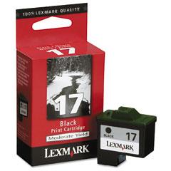 Lexmark 10N0217 10N0217 Ink, 210 Page-Yield, Black