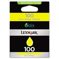Lexmark - 14n0902 (100) ink, 200 page-yield, yellow, sold as 1 ea
