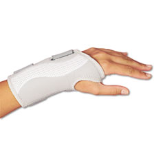 Lil Drugstore LIL00104 Women`s Slimfit Wrist Support, Adjustable, Grey/White, Right Hand