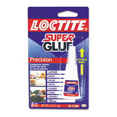 Loctite LOC0121309 Super Glue Bottle, .18 oz, Super Glue Liquid