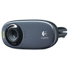 Logitech - hd c310 portable webcam, 5mp, black, sold as 1 ea