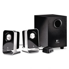 Logitech 980-000058 Ls21 2.1 Stereo Speaker System With Sub-Woofer