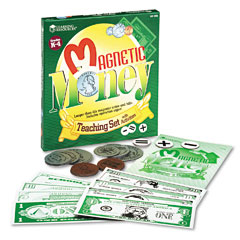 Learning Reasources LER0080 Magnetic Money, For Grades K And Up