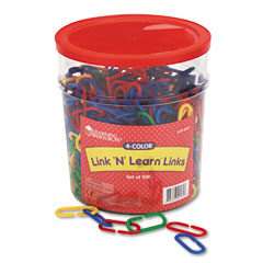 Learning resources - link ?????????n????????? learn links, math manipulatives, for grades pre-k-4, sold as 1 st
