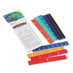 Learning Reasources LER0616 Rainbow Fraction Tiles, Overhead, Math Manipulatives, For Grades 2-6