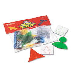 Learning Reasources LER0910 Overhead Folding Geometric Shapes, For Grades 2 And Up