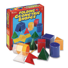 Learning Reasources LER0921 Folding Geometric Shapes, For Grades 2 And Up