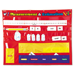 Learning Reasources LER2284 Measurement And Estimation Pocket Chart
