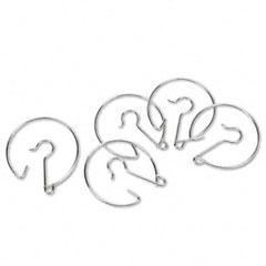 Learning Reasources LER2296 Chart Pocket Rings, Hanging Metal Ring Hooks
