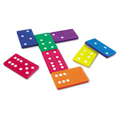 Learning resources - jumbo dominoes, for grades k and up, sold as 1 st