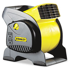 Lasko LSK655702 Three-Speed High-Velocity Blower Fan, Black & Yellow