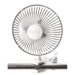 """Lasko LSK9145 Personal Fan W/Clip, 6"""", White"""