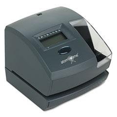 Lathem 1500E 1500E Atomic Time Recorder, Charcoal